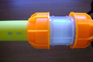 Monotubo giallo giuntato (Large)